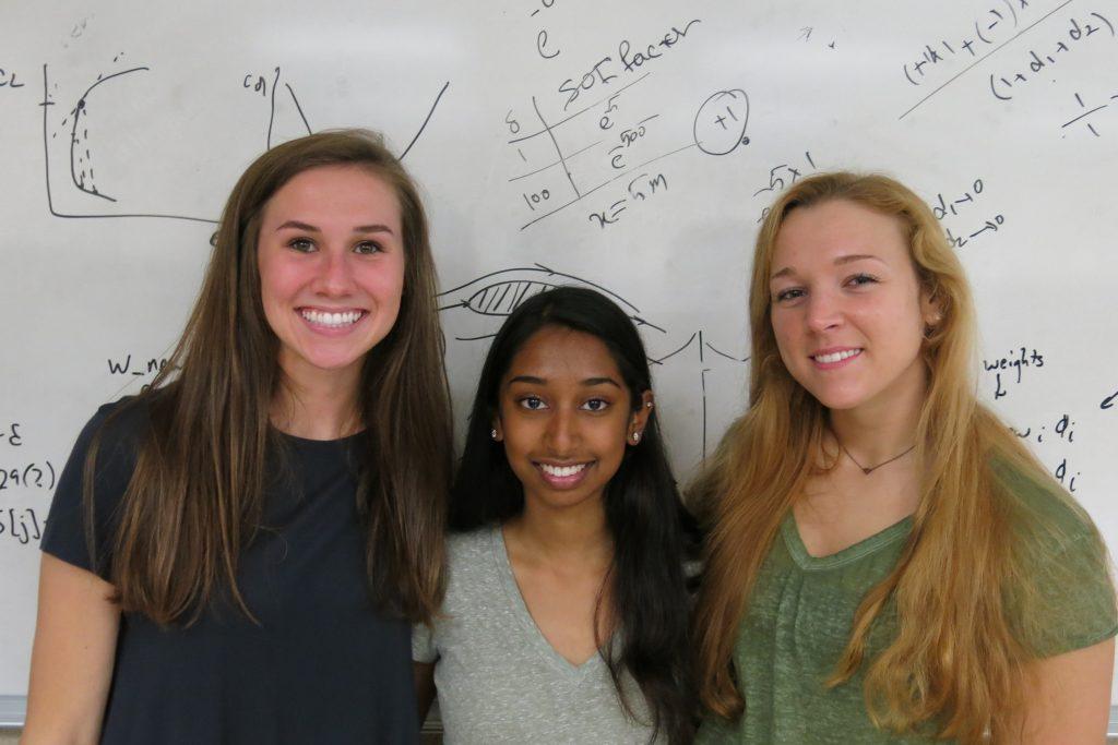 Summer 2018 REU Students